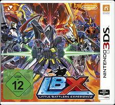 Little Battlers eXperience (Nintendo 3ds, 2015, DVD-box) + nuevo y en su embalaje original +