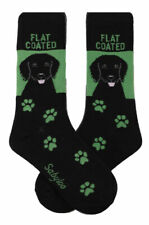 Flat Coated Retriever Crew Socks Unisex