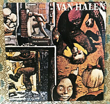 Van Halen Fair Warning Vinyl LP CD Cover Bumper Sticker or Fridge Magnet