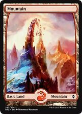 MTG Magic - (L) Battle for Zendikar - 4x Mountain #267 FULL ART x4 - NM/M