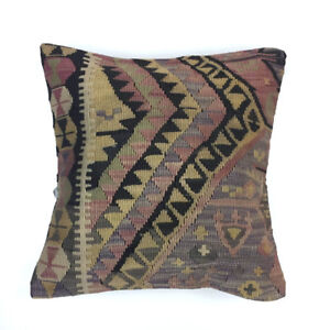 Vintage Kilim Cushion Cover Kelim Pillow 50x50cm Moroccan  style  5052