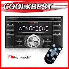 NEW NAKAMICHI NA788 CD USB SD BLUETOOTH AUDIO HEAD UNIT DOUBLE DIN CAR VAN TRUCK