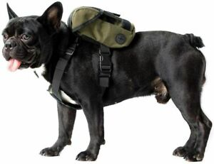 OneTigris Eureka K9 Backpack, Durable Small Medium Dog Pack with Litter Bag