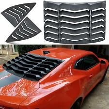 Rear and Side Quarter Window Louvers Sun Shade for Chevrolet Camaro 2010-2015