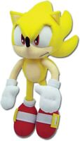 Sonic the Hedgehog SUPER SONIC PLUSH 12-inch Plush NEW AUTHENTIC