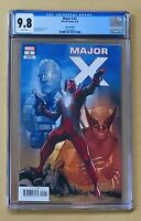 Major X #2 CGC 9.8 1:25 NOTO VARIANT 1st PRINT Deadpool Cable Liefeld