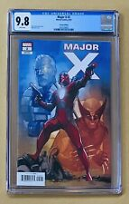 Major X #2 CGC 9.8 1:25 NOTO VARIANT 1st PRINT Deadpool Cable Liefeld FAST SHIP