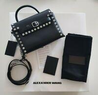 NWT Alexander Wang  Attica Chain  black studded Crossbody Bag