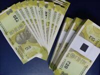 New Issue India 2019 Gandhi 20 Rupees Banknote UNC P-110