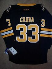 ($70) REEBOK Boston Bruins ZDENO CHARA nhl Jersey YOUTH KIDS BOYS (L-LG-LARGE)