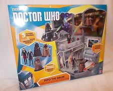 Doctor Who Action Figure Into The Dalek Set with 5 figures 12th Dalek 3.75 inch