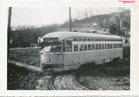 Johnstown PA Traction Co. Morrellville Line Trolley Real Photo 1960 Cambria Co.