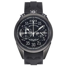 Bomberg Men's NS39CHPGM.0073.2 1968 39mm Chronograph Black PVD Black Dial Watch