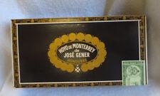 HOYO OF MONTERREY ESTELUBO MADURO WOOD CIGAR BOX - NICE