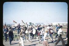1950s Kodachrome photo slide Vallejo CA Teenage boys and girls school #3