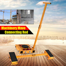 Heavy Rotating Machinery Mover Wear Resistance Roll Smoothly Q235 Steel 8TRoller