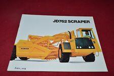 John Deere 762 Scraper Pan Dealer's Brochure RPMD