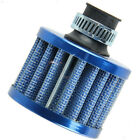 12mm Car Air Filter Intake Vent Valve Cover Breather Fuel Crankcase Filter Blue