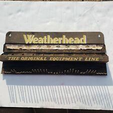 Vintage Weatherhead Automotive Store Display-The Original Equipment Line