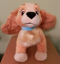 """Disney Plush Lady From Lady and the Tramp Movie NWT 11"""" Soft & Beautiful"""
