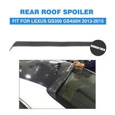 Carbon Fiber Rear Roof Wing Spoiler Fit for Lexus GS450h GS350 F Sport Sedan