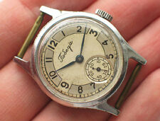 Early soviet POBEDA ZIM watch Beautiful vintage dial 2Q-1951 *SERVICED* VGC