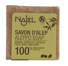 """LOT DE 2 SAVONS D'ALEP 100% HUILE D'OLIVE """"NAJEL"""" - Bien être"""