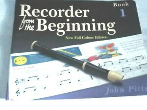 Recorder From The Beginning Book