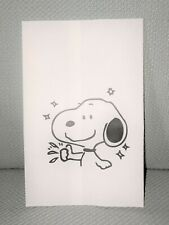 50-Pack Snoopy Gift Bag White Paper Party Favor Treat Bags Packaging Jewelry