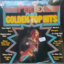 LP Pete Tex ‎- Pete Tex Plays Golden Top Hits GER 1976 ,NEU und O.V.P in Folie