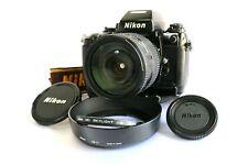 """""""Excellent"""" Nikon F4s Film Camera w/MB21. AF Zoom Nikkor 24-120mm F3.5-5.6D"""