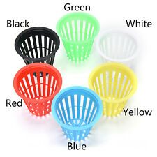 10x Planting Basket Plastic Round Aquatic Pots Baskets for Water Plants Pond JP