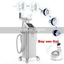 5in1 Double Handles Fat Freeze Cavitation Cold Body Slimming Lipo Laser Machine