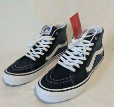 Mens 9.5 Vans Sk8 Hi Pro Navy High Top Pro classic Skate Shoes