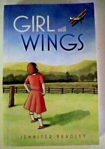 Girl With Wings, by Jennifer Bradley - 9780992590185