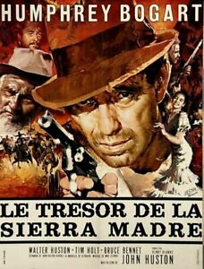Humphrey Bogart THE TREASURE OF THE SIERRA MADRE John Huston 1948 24x32