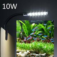 10W LED Aquarium Aquarien Beleuchtung Laterne Aufsetzleuchte KlemmLampe DE