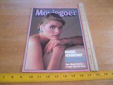 Mariel Hemingway Moviegoer magazine 1984 Personal Best Mandy Patinkin