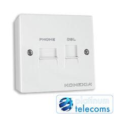 Konexia F-200UK ADSL pre-filtrata estensione presa del Telefono Microfiltro 68MM