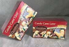 NEW Celestial Seasonings Candy Cane Lane Holiday Christmas Tea Lot 2 Boxes/40ct