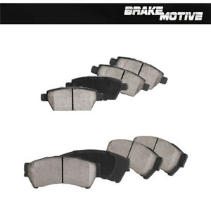 Front And Rear Ceramic Brake Pads For Ford Fusion Lincoln MKZ Zephyr Mazda 6