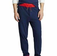 NWT Polo Ralph Lauren Men's SZ Small Fleece Jogger Sweatpants Navy Blue $125+