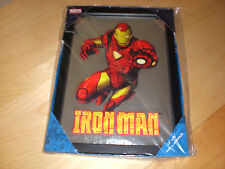 IRONMAN MIRROR GLASS IRON MAN MARVEL COMICS NEW BOXED READY TO HANG