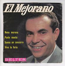 "EL MEJORANO Vinyle 45 tours EP 7"" NENA MORENA VIVA LA FERIA - BELTER 151 225"