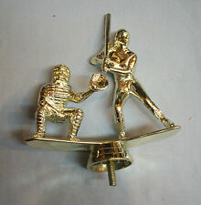 """dual action softball batter 5 1/2"""" tall lot of 13 trophy parts Freeman 8637-1"""