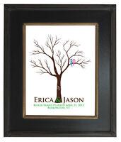 16x20 Wedding Guestbook FINGERPRINT TREE, WEDDING GIFT, Custom Print TREE 104