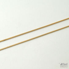 New Ladies / Womens Solid 9ct Gold Pendant 16 inch Curb Chain 1.6g  RRP £90