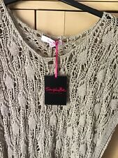 Simply Be Beach Cover Up Size 24 Beige  NEW
