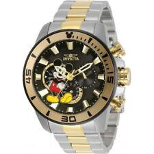 Invicta Men's 30781 Disney Quartz 3 Hand Black Dial Watch
