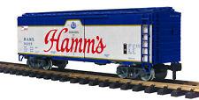 MTH G-Gauge HAMM'S Reefer Car w/Stainless Steel Wheels 70-78046